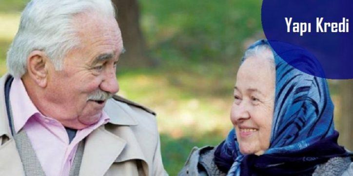 Yapı Kredi Emeklilere Özel İhtiyaç Kredisi