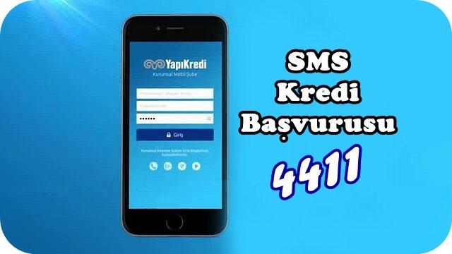 Yapı Kredi 4411 SMS ile Kredi Nasıl Alınır?